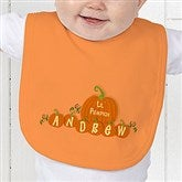 My 1st Halloween Personalized Baby Bib - 6135-B