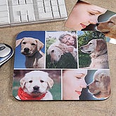 Pet Photo Collage Personalized Mouse Pad- Horizontal - 6136-H