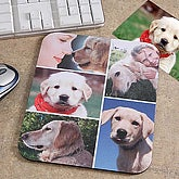 Pet Photo Collage Personalized Mouse Pad- Vertical - 6136-V