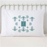 Damask Personalized Pillowcase - 6142-N