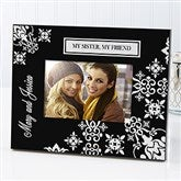 Damask Personalized Picture Frame - 6143-N