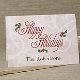 'Tis The Season Personalized Christmas Cards - 6161-C