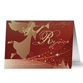 Rejoice Personalized Religious Christmas Cards - 6175-C