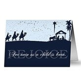 Away In A Manger Religious Christmas Cards - 6176-C