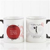 What Friends Are For Personalized Coffee Mug 11oz.- Black - 6241-B