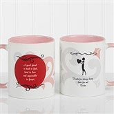What Friends Are For Personalized Coffee Mug 11oz.- Pink - 6241-P