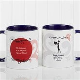 What Friends Are For Personalized Coffee Mug 11oz.- Blue - 6241-BL