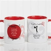 What Friends Are For Personalized Coffee Mug 11oz.-Red - 6241-R