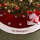 Winter Wonderland Embroidered Tree Skirt - 6313