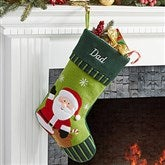 Santa- Christmas Family Stocking - 6316-SA