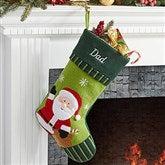 Santa- Christmas Family Stocking - 6316-SA