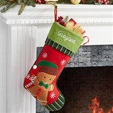 Gingerbread Boy- Christmas Family Stocking - 6316-GB