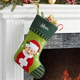 Mrs. Claus- Christmas Family Stocking - 6316-MC