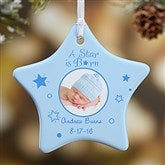 1-Sided A Star Is Born Personalized Photo Ornament - 6354-1