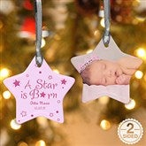 2-Sided A Star Is Born Personalized Photo Ornament - 6354-2