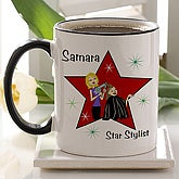Star Stylist© Personalized Coffee Mug - 6372-B