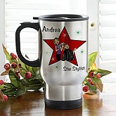 Star Stylist© Personalized Travel Mug - 6372-S