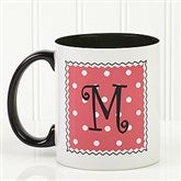 Dot to Dot Personalized Coffee Mug - 6386-B
