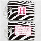 5 Designs Personalized Luggage Tag 2 Pc Set - 6391