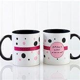 Sweet and Sassy Personalized Coffee Mug 11oz.- Black - 6395-B