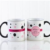 Sweet and Sassy Personalized Coffee Mug 11oz.- Black - 6395-B