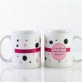 Sweet and Sassy Personalized Coffee Mug 11oz.- White - 6395-S