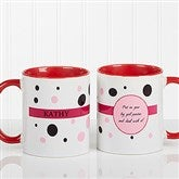 Sweet and Sassy Personalized Coffee Mug 11oz.- Red - 6395-R