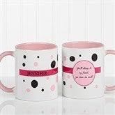 Sweet and Sassy Personalized Coffee Mug 11oz.- Pink - 6395-P