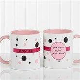 Sweet and Sassy Personalized Coffee Mug 11oz.- Pink - 6395-P