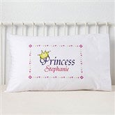 Jr. Royalty Personalized Pillowcase - 6400