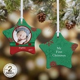 2-Sided Picture Perfect Photo Star Ornament - 6487-2