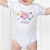 Little Valentine Personalized Baby Bodysuit - 6527-CBB
