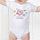 Little Valentine Personalized Baby Bodysuit - 6527-CBB