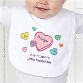 Little Valentine Personalized Bib - 6527-B