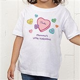 Little Valentine Personalized Toddler T-Shirt - 6527-TT