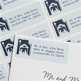 Away In A Manger Return Address Labels - 6535