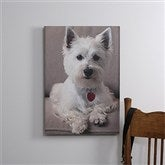 Pet Photo Memories Canvas Print - 12