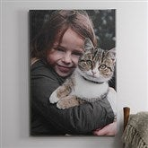 Pet Photo Memories Canvas Print - 16