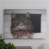 Pet Photo Memories Canvas Print - 24