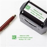 Irish Knot Address Rubber Stamper - 6585-S