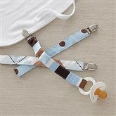 Set of 3 Pacifier Clips for Boys - 6618-BP