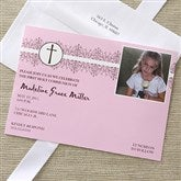 My First Communion Invitations - Pink - 6623-P