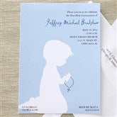 Blessed Occasion Invitations- Blue - 6658-B