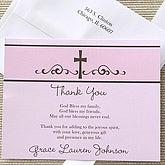 Precious Prayer Thank You Cards- Pink - 6665-P