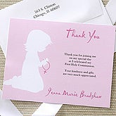 Blessed Occasion Thank You Card - Pink - 6668-P