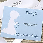 Blessed Occasion Thank You Card - Blue - 6668-B