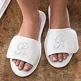 Rhinestone Monogram© Terry Slippers - 6695