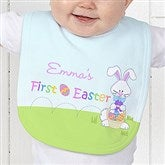 First Easter Personalized Baby Bib - 6702-B