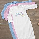 First Easter Personalized Baby Gown - 6702-G