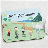 Character Collection© Personalized Mouse Pad - 6706